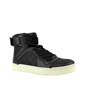 4be7c11d3438 Men s Black High Top Gucci Sneakers on Poshmark